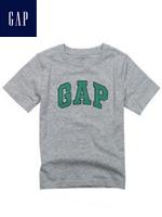 GAP 갭 베이비 반팔 티셔츠 - 그레이/그린