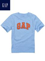 GAP 갭 베이비 반팔 티셔츠 - 스카이블루/오렌지