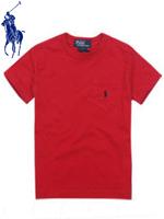 POLO 폴로 베이비 반팔 티셔츠 - 레드
