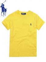 POLO 폴로 베이비 반팔 티셔츠 - 옐로우