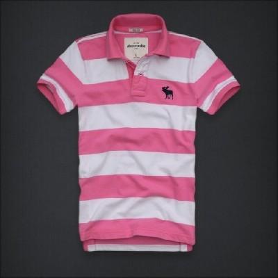 Abercrombie 아베크롬비 보이즈 반팔폴로셔츠 그린마운틴(Green Mountain) - 핑크