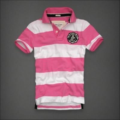 Abercrombie 아베크롬비 남녀공용 반팔폴로셔츠 마운트암스트롱(Mount Armstrong) - 핑크