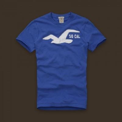 Hollister 홀리스터 반팔티 헌팅턴비치(Huntington Beach) - 블루