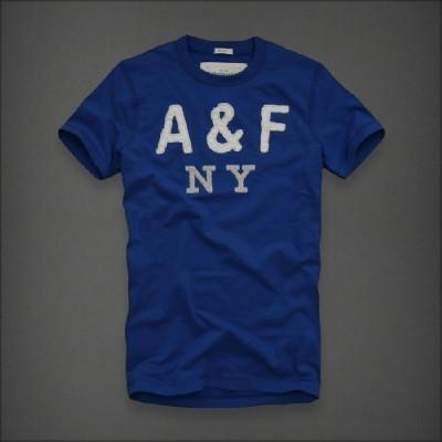 Abercrombie 아베크롬비 남녀공용 반팔티 디어브룩(Deer Brook) - 블루