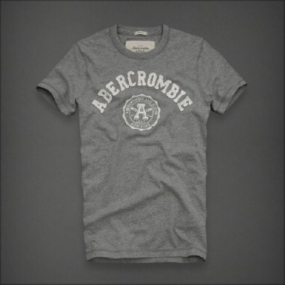 Abercrombie 아베크롬비 남녀공용 반팔티 디어브룩(Deer Brook) - 헤더그레이