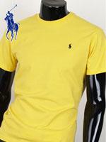 POLO 폴로랄프로렌 보이즈 라운드 반팔 티셔츠 - SP/옐로우
