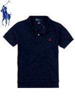 POLO 폴로 베이비 반팔 PK셔츠 - 네이비