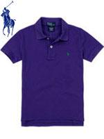 POLO 폴로 베이비 반팔 PK셔츠 - 퍼플