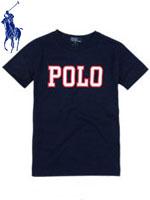 POLO 폴로 베이비 반팔 로고 티셔츠 - 네이비