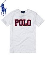 POLO 폴로 베이비 반팔 로고 티셔츠 - 화이트