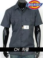 디키즈 반팔 워크셔츠(Work Shirts) 1574 - 챠콜(CH)