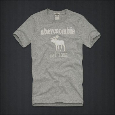 Abercrombie 아베크롬비 보이즈 반팔티 길리건마운틴(Gilligan Mountain) - 헤더그레이