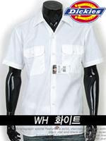 디키즈 반팔 워크셔츠(Work Shirts) 1574 - 화이트(WH)