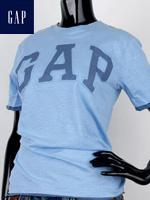 GAP 갭 키즈 라운드 반팔티셔츠 - 빈티지블루