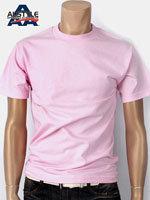 AAA 트리플A 반팔 무지 티셔츠 - 핑크