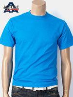 AAA 트리플A 반팔 무지 티셔츠 - 터키옥색