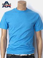 AAA 트리플A 반팔 무지 티셔츠 - 캐롤라이나블루