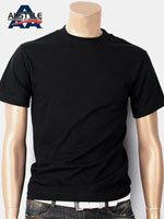 AAA 트리플A 반팔 무지 티셔츠 - 블랙