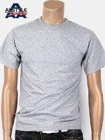 AAA 트리플A 반팔 무지 티셔츠 - 아틀래틱헤더