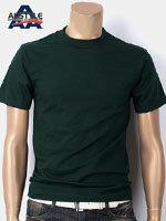 AAA 트리플A 반팔 무지 티셔츠 - 헌터그린