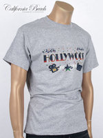 California Beach 캘리포니아 비치 반팔 티셔츠 - #24/그레이
