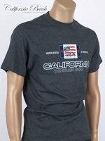California Beach 캘리포니아 비치 반팔 티셔츠 - #20/차콜