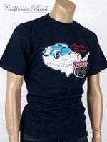 California Beach 캘리포니아 비치 반팔 티셔츠 - #21/네이비
