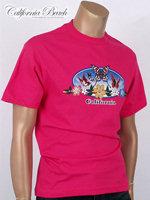 California Beach 캘리포니아 비치 반팔 티셔츠 - #23/핑크