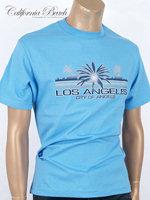 California Beach 캘리포니아 비치 반팔 티셔츠 - #12/스카이블루