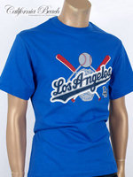 California Beach 캘리포니아 비치 반팔 티셔츠 - #15/블루