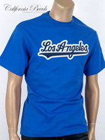 California Beach 캘리포니아 비치 반팔 티셔츠 - #14/블루