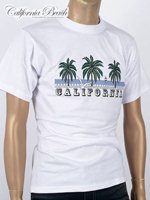California Beach 캘리포니아 비치 반팔 티셔츠 - #10/화이트