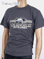 California Beach 캘리포니아 비치 반팔 티셔츠 - #8/차콜