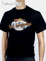 California Beach 캘리포니아 비치 반팔 티셔츠 - #4/블랙