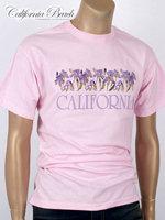 California Beach 캘리포니아 비치 반팔 티셔츠 - #3/핑크