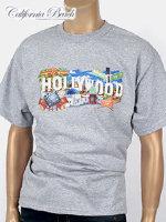 California Beach 캘리포니아 비치 반팔 티셔츠 - #1/그레이