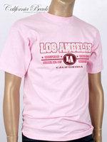 California Beach 캘리포니아 비치 반팔 티셔츠 - #2/핑크