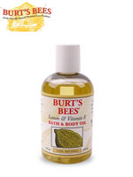 [Burt's Bees] 버츠비 천연화장품 14번 정품 레몬 앤 비타민 E 바스 앤 바디 오일