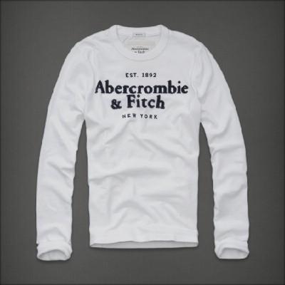 Abercrombie 아베크롬비 남녀공용 긴팔티셔츠 레이크이튼(Lake Eaton) - 화이트