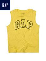 GAP 갭 베이비 민소매 티셔츠 - 옐로우/블랙