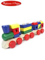Melissa & Doug Staking Train 멜리사앤더그 유아교구 원목 기차쌓기 장난감