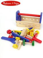 Melissa & Doug Take Along Tool kit 멜리사앤더그 유아교구 원목 공구조립 장난감