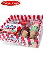 Melissa & Doug Scoop & Stack Ice Cream Cone Playset 멜리사앤더그 유아교구 아이스크림놀이 장난감