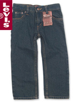 Levi's Kid's 리바이스 키즈 514-287 Slim Straight Jean(슬림 스트레이트 진)