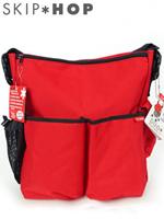 Skip*hop 스킵합 듀오 에센셜 아기 기저귀가방 - 레드
