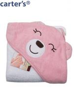 Carter's 카터스 유아 후드 타올 속싸개 126-269/핑크