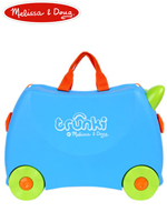 Melissa & Doug Trunki 멜리사앤더그 트렁키 다용도 유아여행가방 토이박스 장난감 - 블루