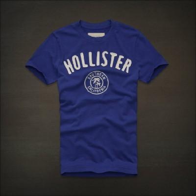 Hollister 홀리스터 반팔티 퍼스트포인트4 (First Point4) - 블루