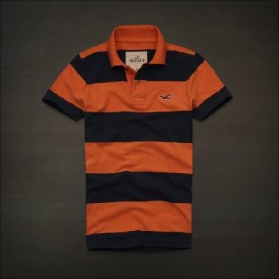 Hollister 홀리스터 반팔폴로셔츠 엘페스카도르(El Pescador) - 오렌지