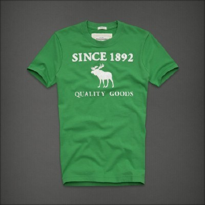 Abercrombie 아베크롬비 남녀공용 반팔 티셔츠 오티스렛지(Otis Ledge) - 그린